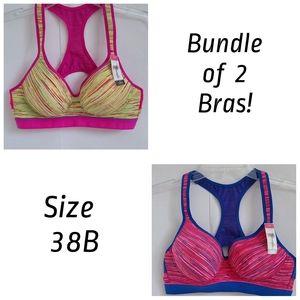 Youmita ♦️Sports Bra Plus 38B Bundle of 2